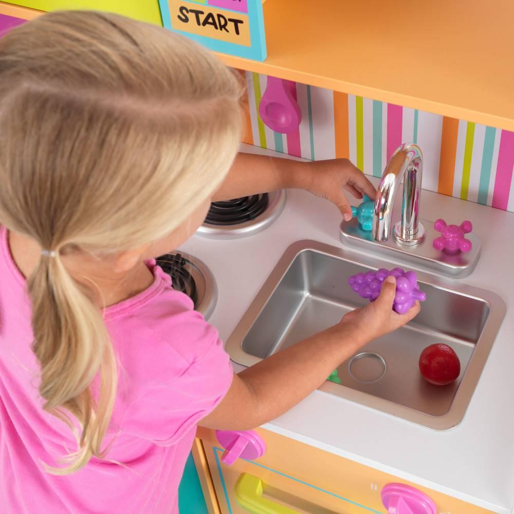 Kidkraft Grote vrolijke luxe kinderkeuken