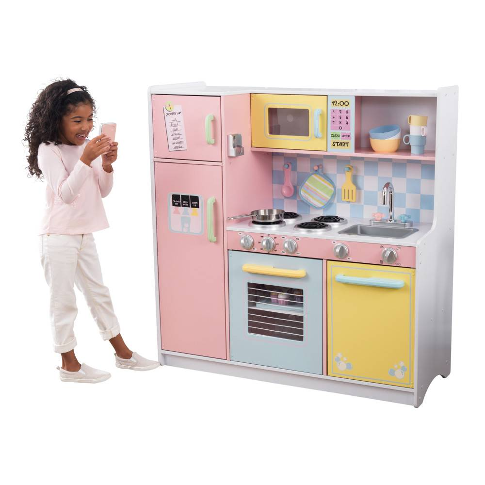 Kidkraft Grote luxe pastel kinderkeuken