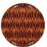 Mariska Meijers Side table Tribal Ikat Long tray table (s)