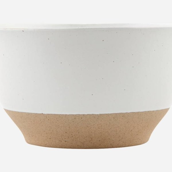 House Doctor Solid Bowl white