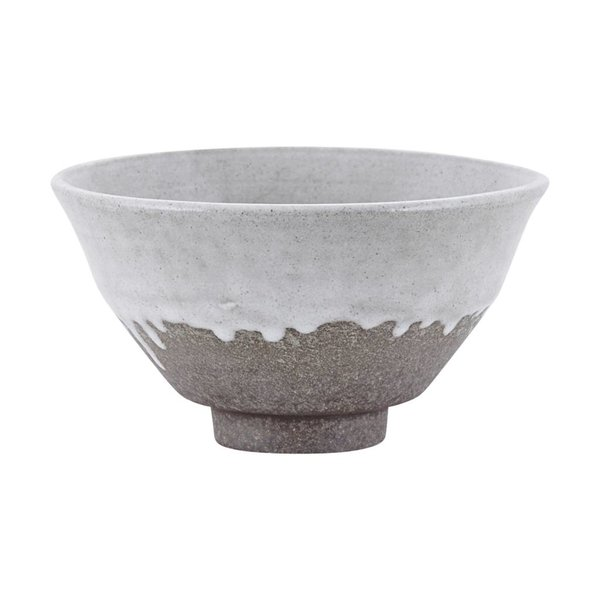 House Doctor Bowl Running glaze white