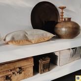 One World Interiors Dienblad rond - vintage uit India