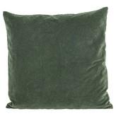 House Doctor Kussenhoes Velv Beluga green