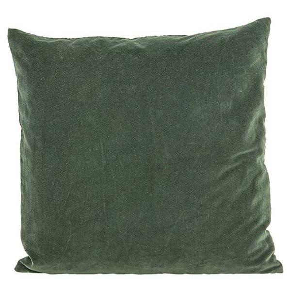House Doctor House Doctor Kussenhoes Velvet Beluga green 50x50