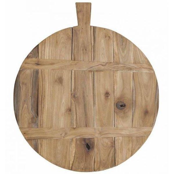 HK Living Broodplank bruin teak hout/L
