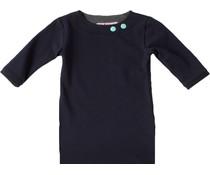 Shirt 'Basic' met driekwart mouw Navy
