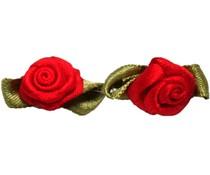 Satijnen roosjes