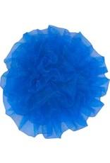 Drukkerapplicatie Tule bloem, kobalt