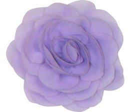 Drukkerapplicatie Voile roos, lila