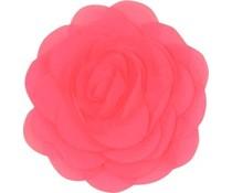 Drukkerapplicatie Voile roos, neon roze