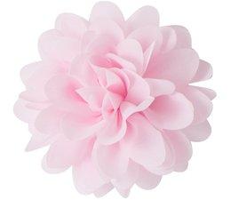 Drukkerapplicatie Voile bloem, mint