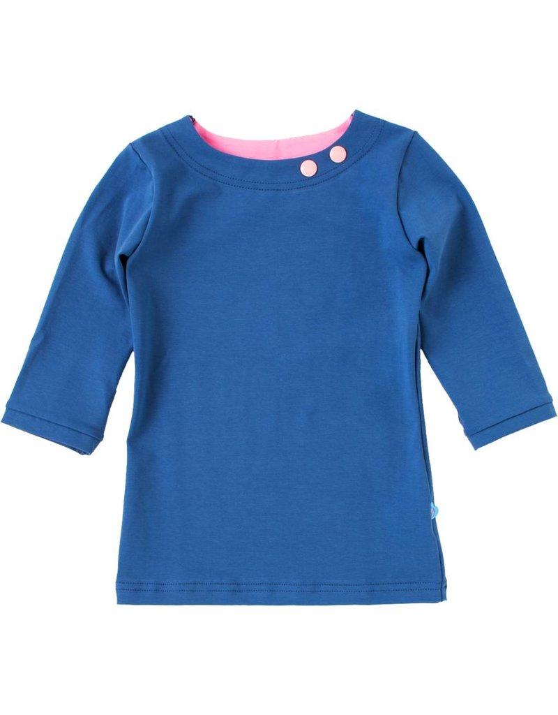 Shirt 'Basic' met driekwart mouw Jeans