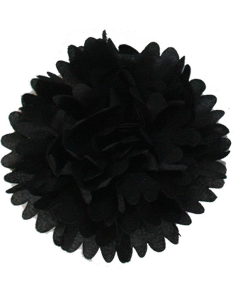 Drukkerapplicatie Dahlia, zwart