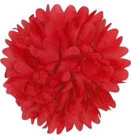 Drukkerapplicatie Dahlia, rood