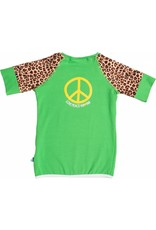 Shirt 'Peace' Groen