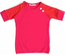 Shirt 'Peace' Fuchsia