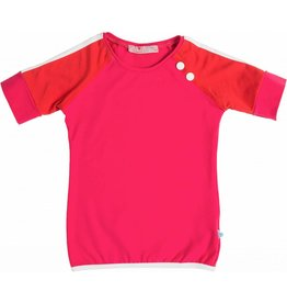 Shirt 'Peace' Fuchsia