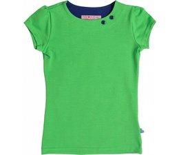 Shirt 'Basic' korte mouw Groen