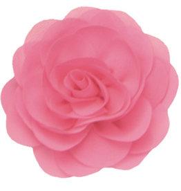Drukkerapplicatie Voile roos, Licht roze nieuw