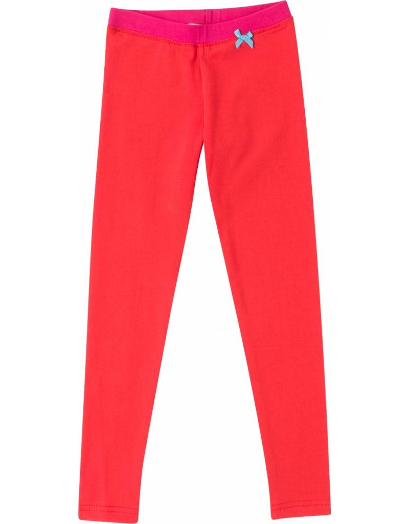 Legging 'Basic' Rood