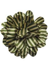 Drukkerapplicatie Gestreepte bloem, army