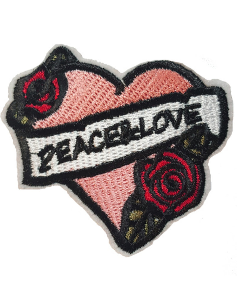Patch Hart Peace-Love