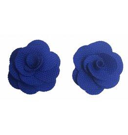 Kleine bloemen Kobalt