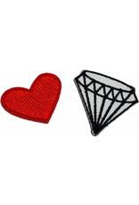 Hartje en diamant