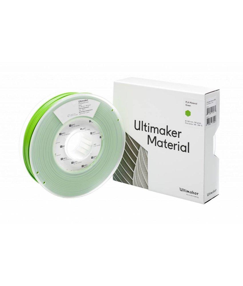 Ultimaker PLA 750gr (NFC) 2.85mm Green