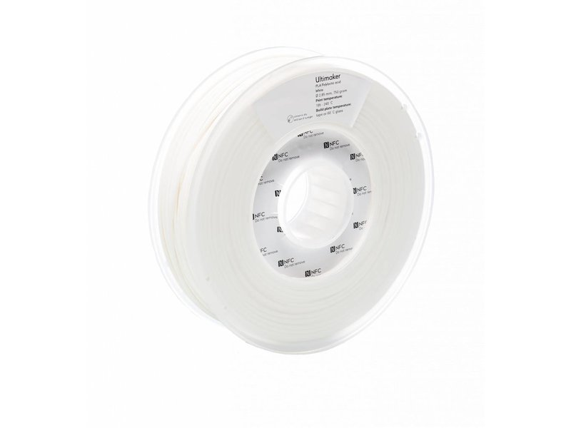 Ultimaker PLA 750gr (NFC) 2.85mm White