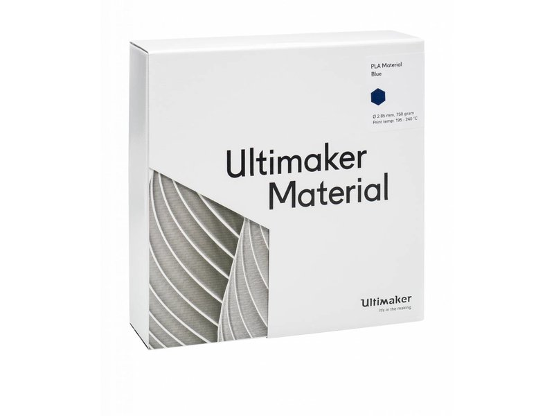 Ultimaker PLA 750gr (NFC) 2.85mm Blue