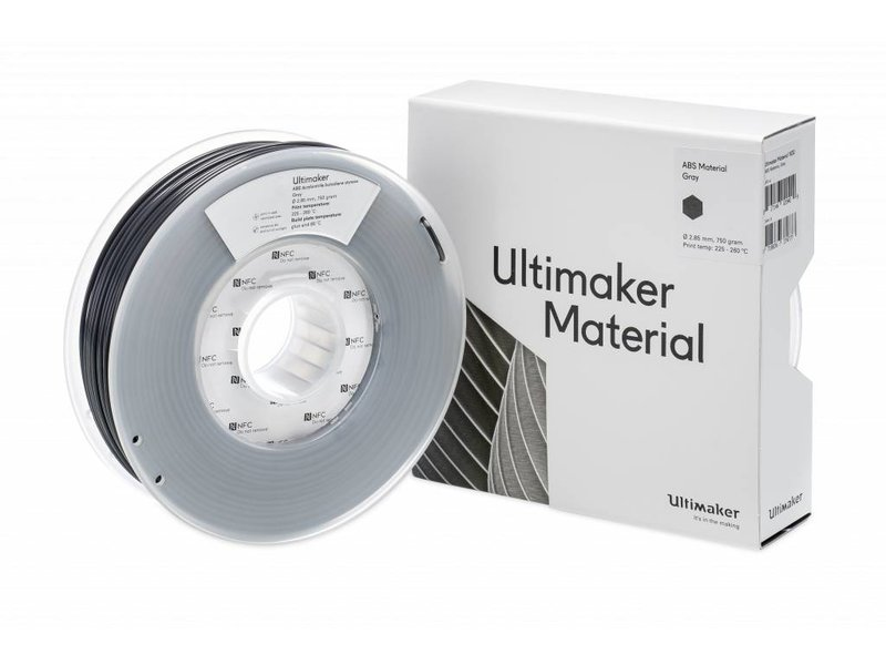 Ultimaker ABS 750gr (NFC) 2.85mm Gray