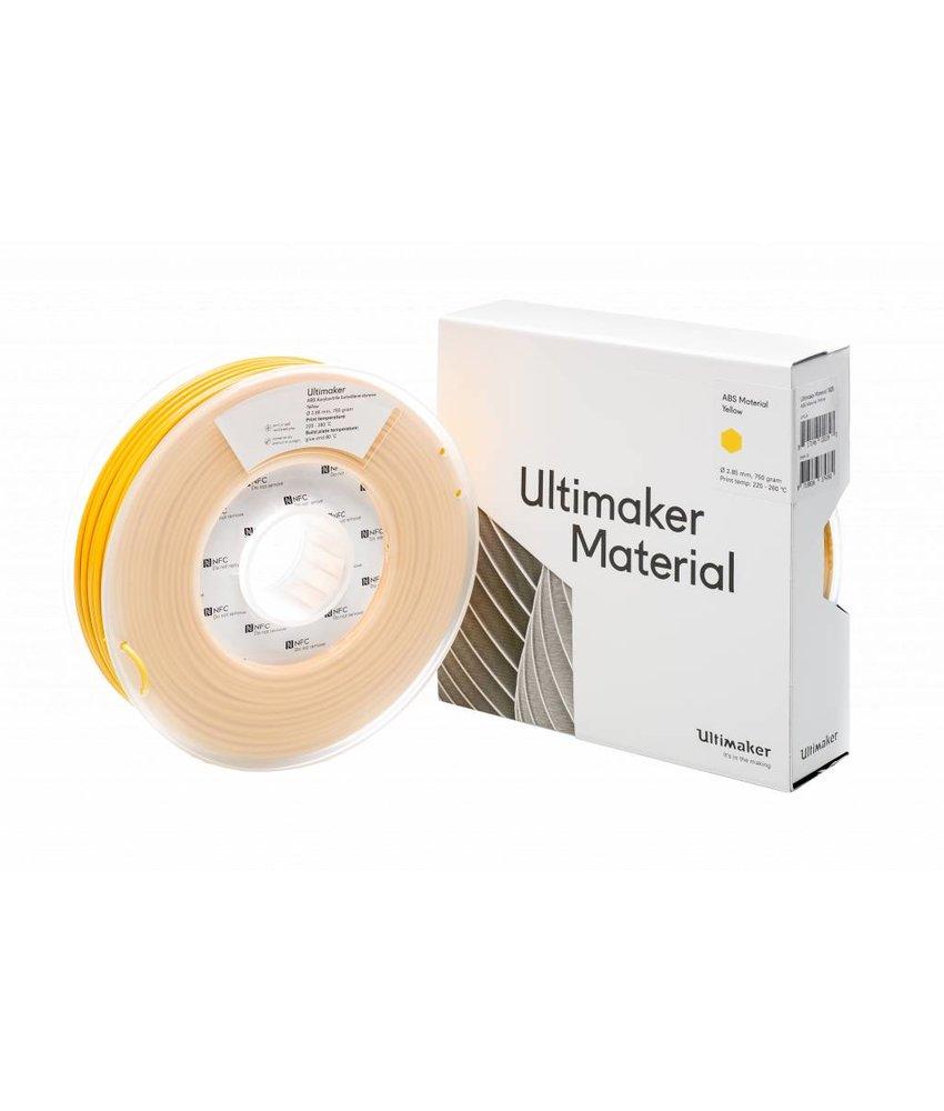 Ultimaker ABS 750gr (NFC) 2.85mm Yellow