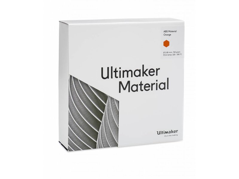 Ultimaker ABS 750gr (NFC) 2.85mm Orange
