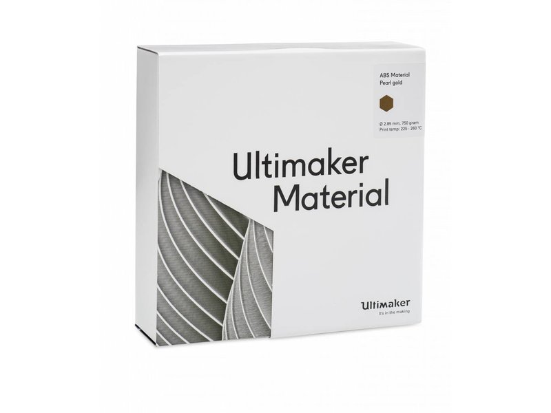 Ultimaker ABS 750gr (NFC) 2.85mm Pearl Gold