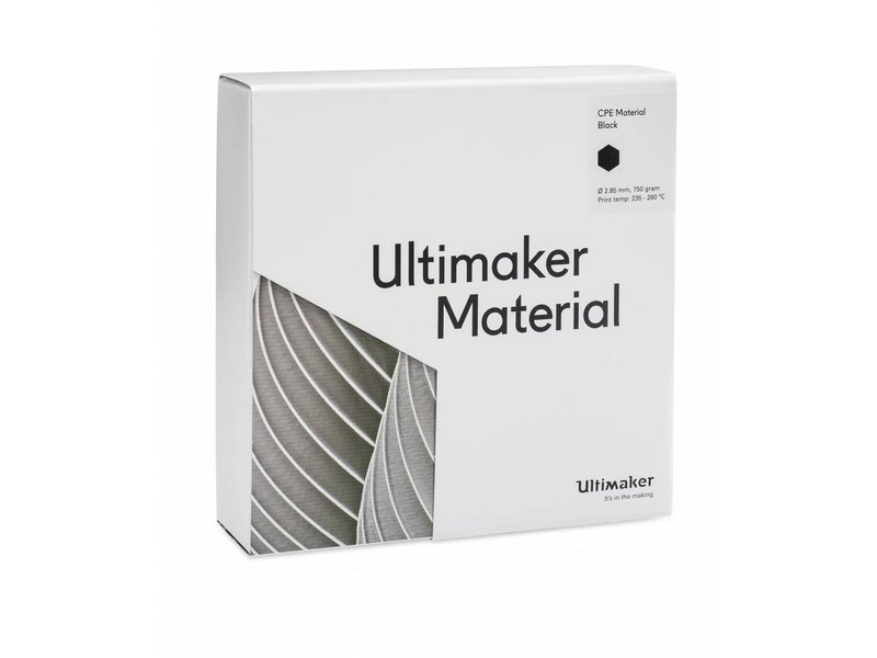 Ultimaker CPE 750gr (NFC) 2.85mm Black
