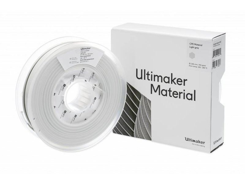 Ultimaker CPE 750gr (NFC) 2.85mm Light Grey