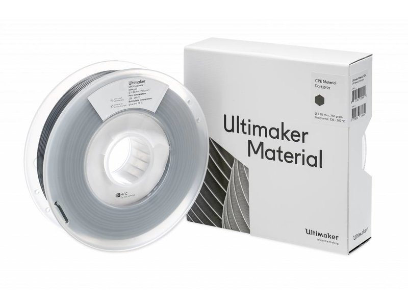 Ultimaker CPE 750gr (NFC) 2.85mm Dark Grey