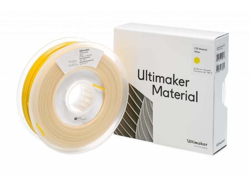 Ultimaker CPE 750gr (NFC) 2.85mm Yellow