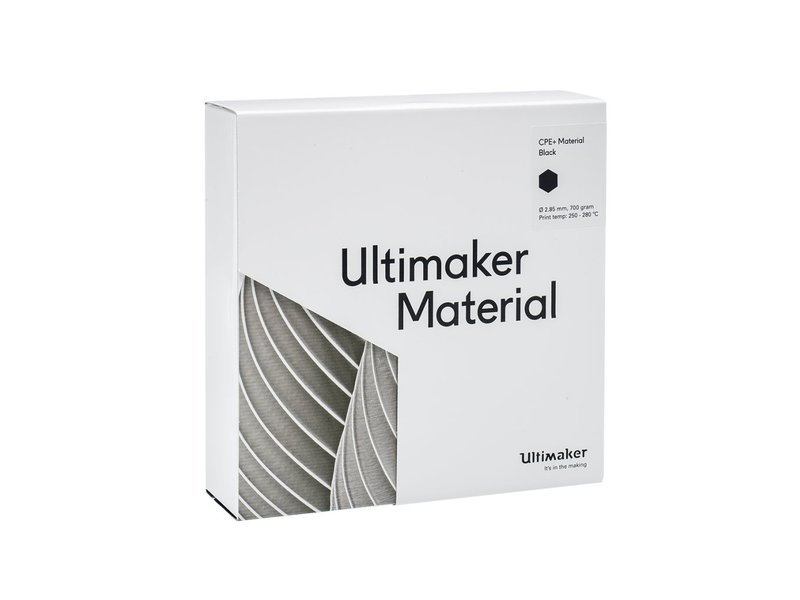 Ultimaker CPE+ 700gr (NFC) 2.85mm Black