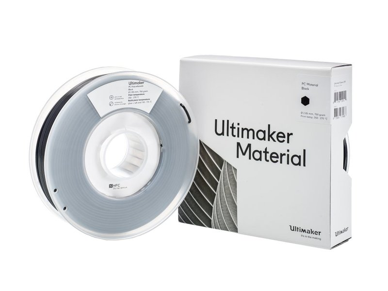 Ultimaker PC 750gr (NFC) 2.85mm Black