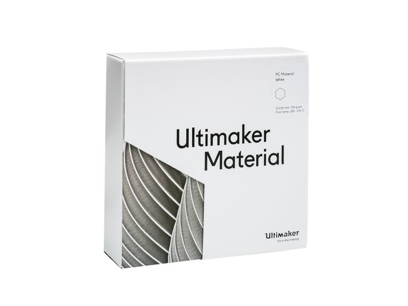 Ultimaker PC 750gr (NFC) 2.85mm White
