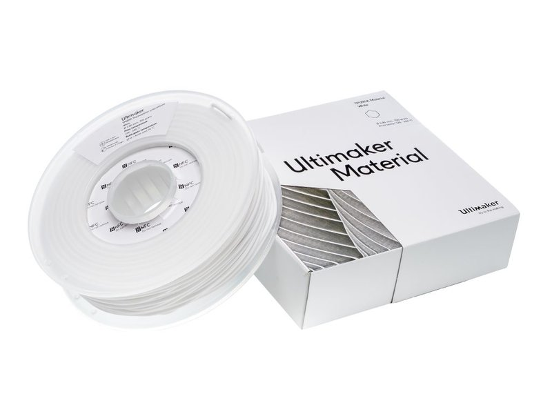 Ultimaker TPU 95A 750gr (NFC) 2.85mm White