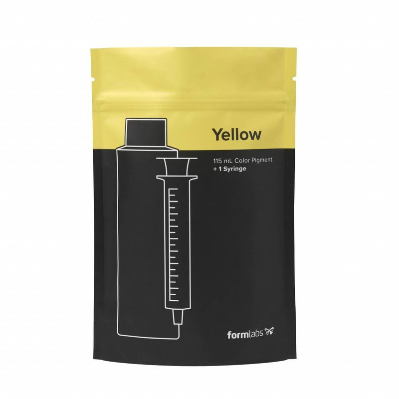 Formlabs Color Pigment 115mL Yellow V1