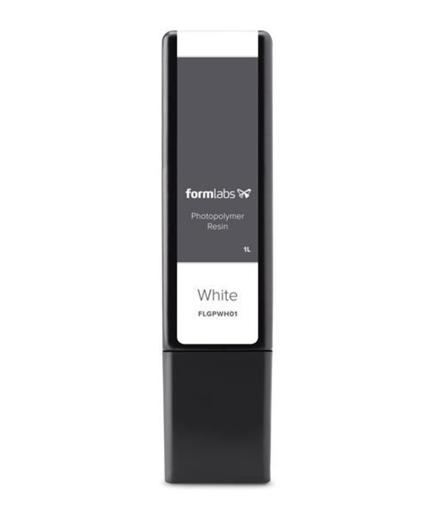 Formlabs Resin 1L Form 2 White V2 - Copy