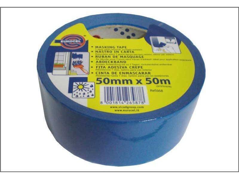 Eurocel Schilderstape Blauw 50mm x 50m