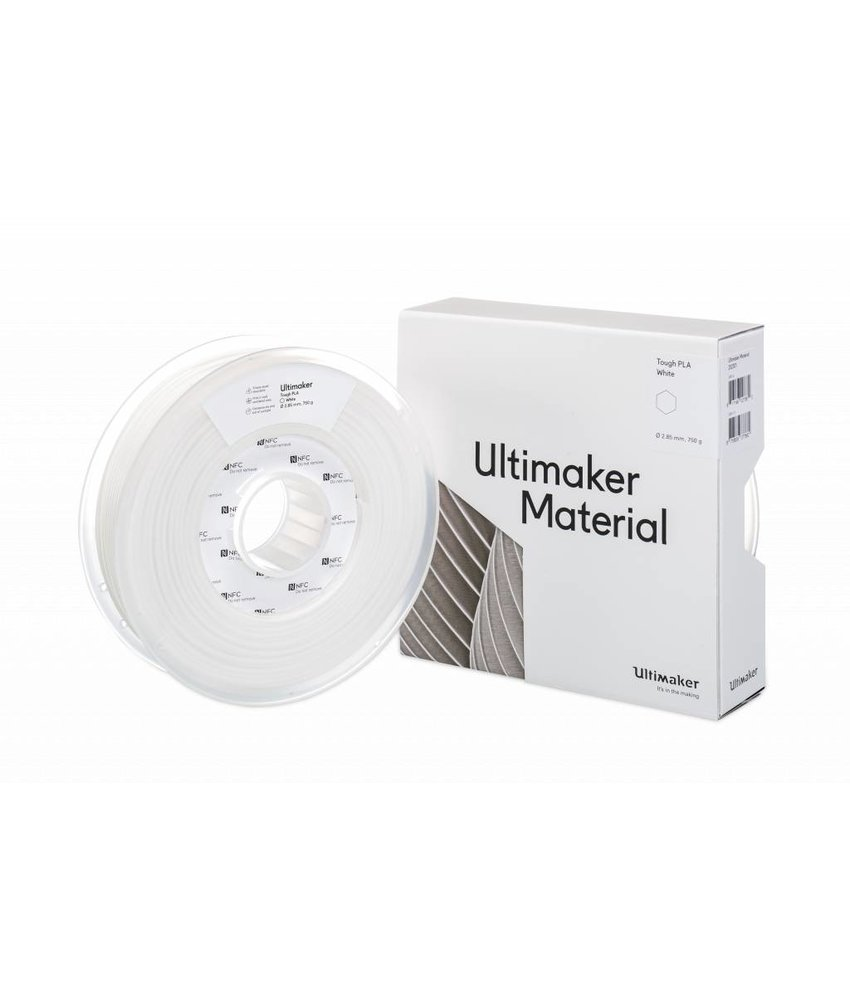 Ultimaker Tough PLA 750gr 2.85mm White