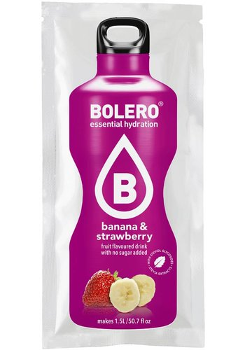 Bolero Limonade Banana & Strawberry with Stevia