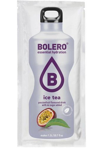 Bolero Limonade ICE TEA Passion Fruit with Stevia