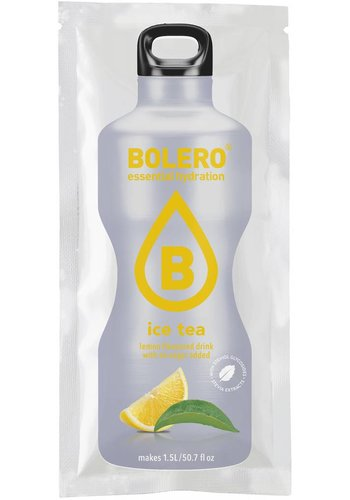 Bolero Limonade ICE TEA Citroen met Stevia